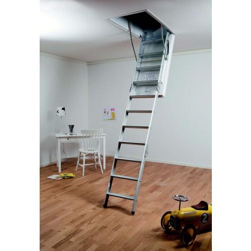Lux Swedish Aluminium Attic Ladder Attic Ladders