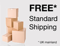 Free standard shipping to UK mainland