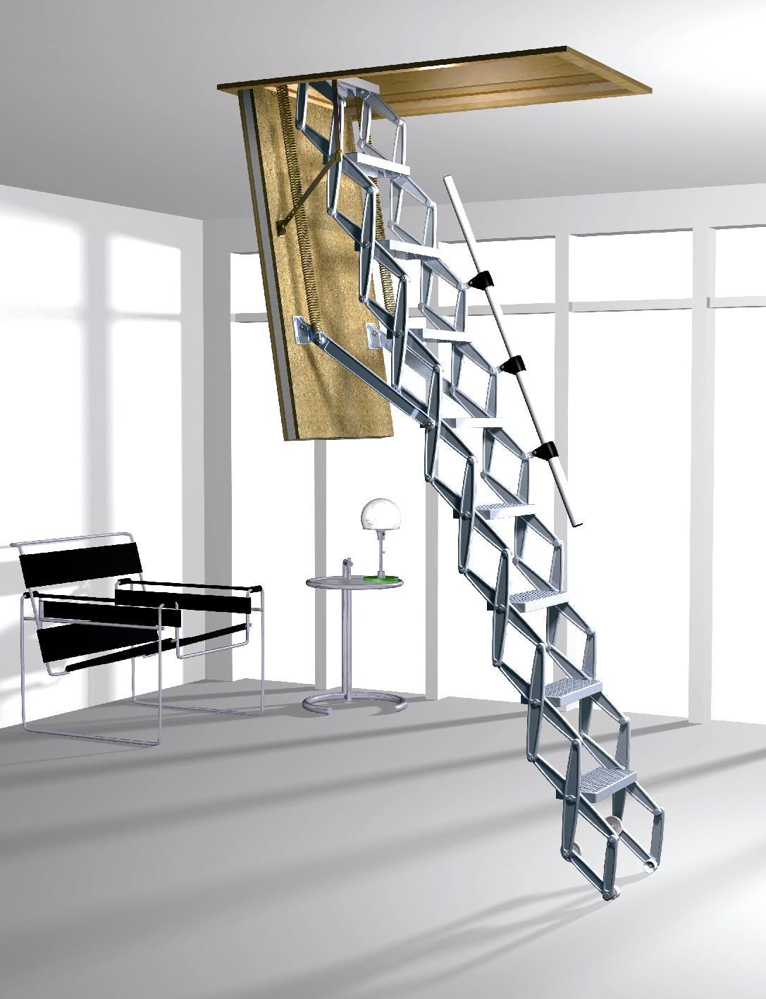concertina archives lofts and ladders. Black Bedroom Furniture Sets. Home Design Ideas