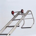 Industrial roof ladders